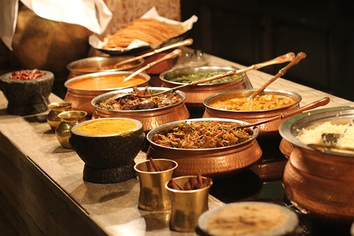 buffet indian food restaurant